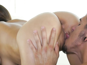 Massage Is Beautiful Foreplay For A Teen Threesome