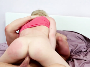 Teen Wants It Rough And He Makes Sure She Gets It.