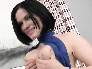 Raven Haired Teen Babe Is Ready For Anal Sex