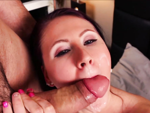 Tit And Mouth Fucking Foreplay With A Hardcore Slut