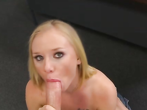 Naughty And Cute Is How He Likes His Cocksucking Sluts