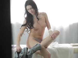Hot Body Russian Girl Rides Cock With Her Asshole