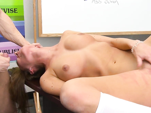 Sweet Schoolgirl Becomes A Slut For Her Teacher