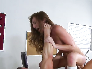 Teacher Gets Rough With The Schoolgirl Slut