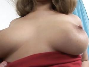 Red Butt Plug Loosens Up This Beautiful Big Ass