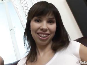 Fondling Perky Titties Of Two All Natural Cuties