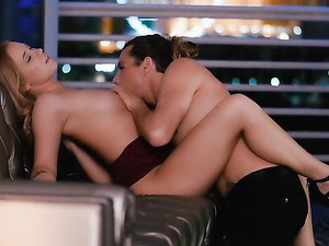 Night Of Romantic Sex With A Hot Young Couple
