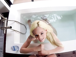 Get In The Bathtub For A Handjob From Elsa Jean