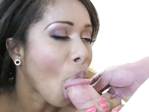 Beautiful Black Teen Fucked By A Fat White Dick