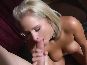 Dick Sucking Is Better From A Big Breasted Blonde Girl