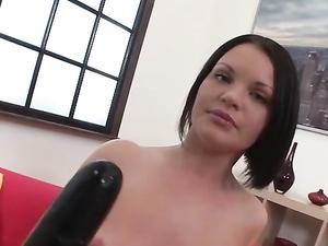 Dicks And Dildos Ass Fucking This Nasty Slut