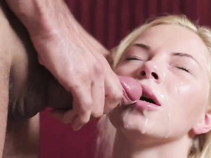 Ass Fucking A Russian Blonde Makes Him Cum