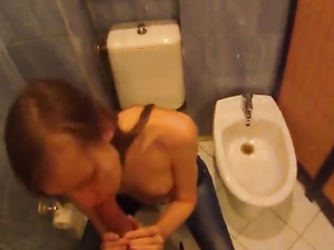 Take A Teen To The Bathroom And Fuck Her