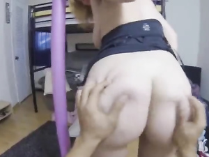 Plowing Young Amateur Pussy From Behind