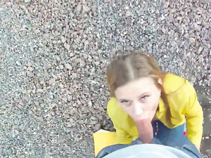 Public Quickie In Doggystyle With A Total Hottie