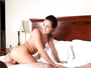 Cutie Likes It On Top And Takes Dick Balls Deep
