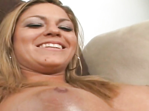 Gorgeous Big Tits On This Cute Cocksucking Babe